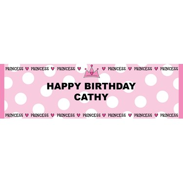 Princess Personalized Banner