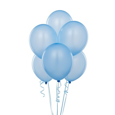 Light Blue Balloons