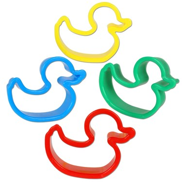 Ducky Cookie Cutters Assorted