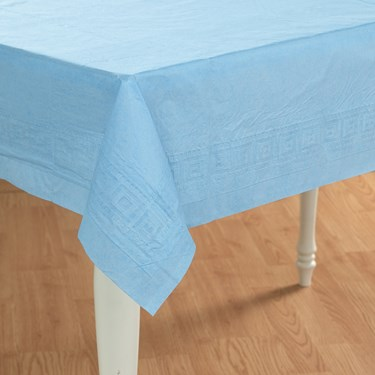 Solid Powder Blue Tablecover