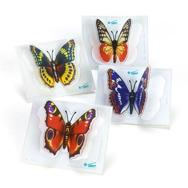 3D Butterfly Sticker Asst.