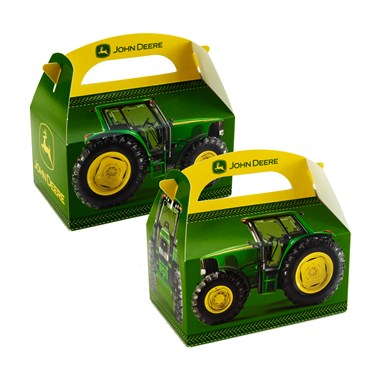 John Deere Empty Favor Boxes