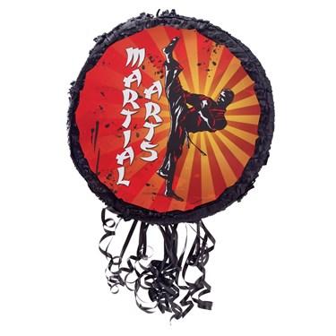 """Martial Arts 18"""" Pull String Pinata"""