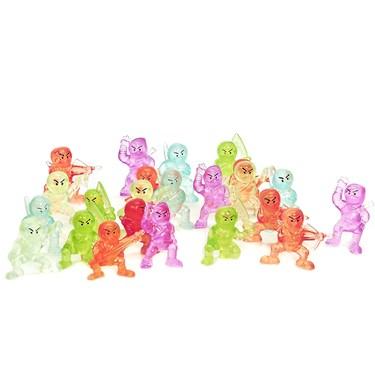 Ninja Figurines (Set of 12)