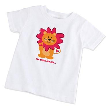 Safari Friends 1st Birthday T-Shirt (Size 18 Months)