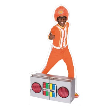 Yo Gabba Gabba! DJ Lance Rock Standup - 5' Tall