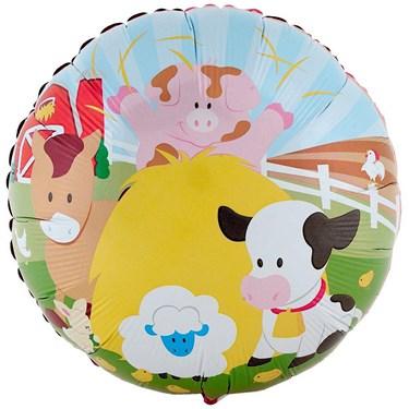 Barnyard Foil Balloon