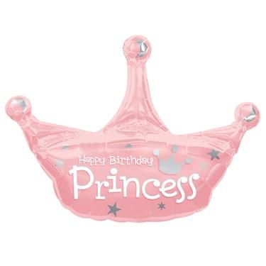 Princess Jumbo Foil Balloon
