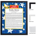 Twinkle Twinkle Keepsake Scroll
