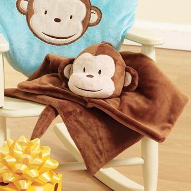 Mod Monkey Blanket