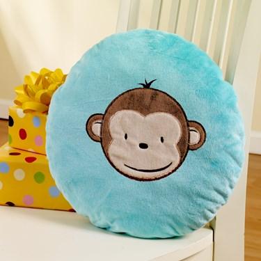 Mod Monkey Pillow