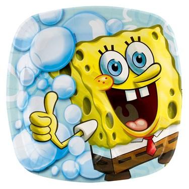 SpongeBob Pocket Dessert Plates