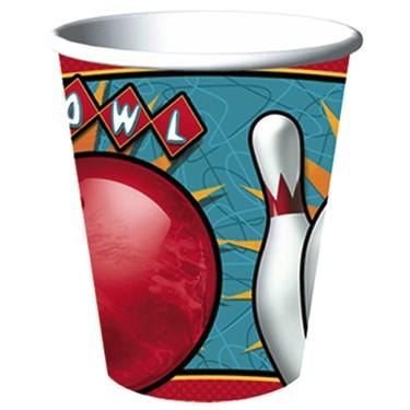 It's A Strike! Bowling 9 oz. Cups