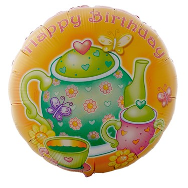 Tea for You Foil Balloon