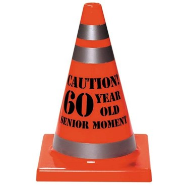 60 Year Old Senior Moment Cone Hat