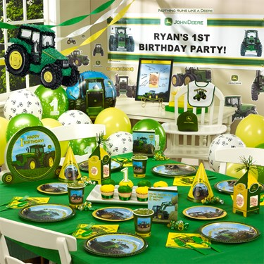 John Deere Ultimate 1st Birthday Party Pack