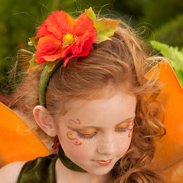 Fall Fairy Headband Child