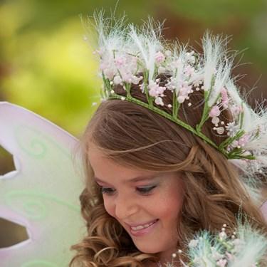 Spring Fairy Hair Garland