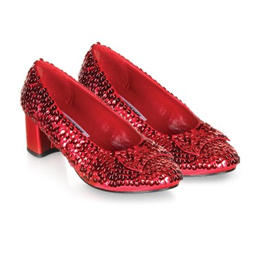 Sparkle Dorothy Shoes (Red) Child