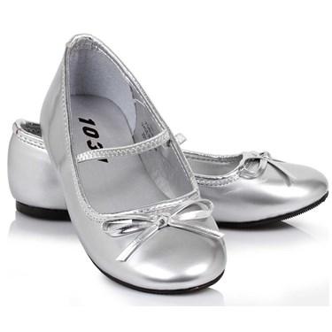 Ballet Flats (Silver) Child