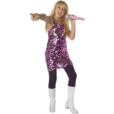Fuchsia/Silver Sequin Dress Child Costume