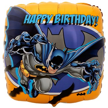 Batman Happy Birthday Foil Balloon
