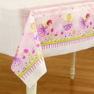 Garden Fairy Plastic Tablecover