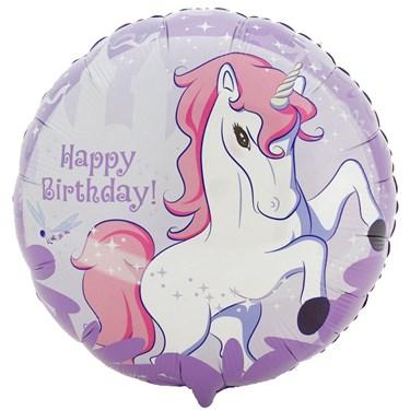 Enchanted Unicorn Foil Balloon