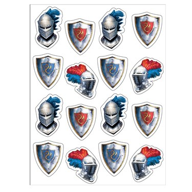 Knight Sticker Sheets