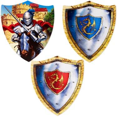 Cutout Assorted Shields