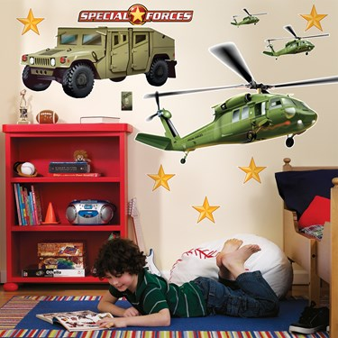 Special Forces Giant Wall Decals