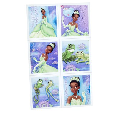 Disney Princess and the Frog Sticker Sheets