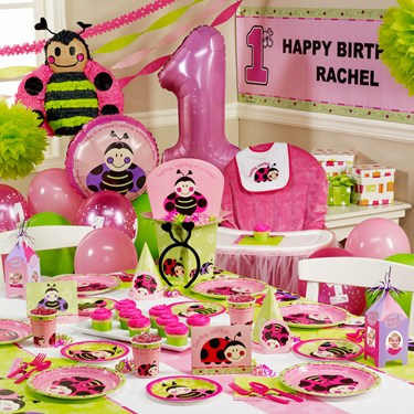 Ladybugs: Oh So Sweet 1st Birthday Ultimate Party Pack