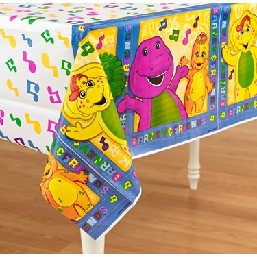 Barney Plastic Tablecover