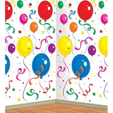 Balloons & Confetti Backdrop