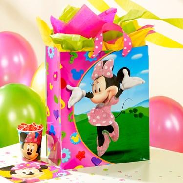 Disney Minnie Large Gift Bag