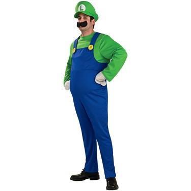 Luigi Deluxe Adult Costume
