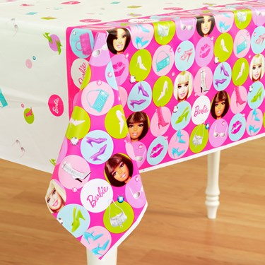 Barbie All Doll'd Up Tablecover
