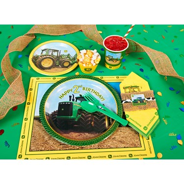 John Deere 2nd Birthday Party Packs