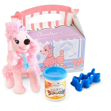 Pink Poodle in Paris 2nd Birthday Filled Party Favor Box