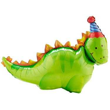 "37"" Dino Birthday Jumbo Balloon"