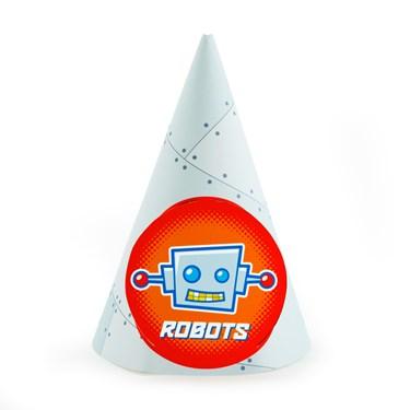 Robots Cone Hats