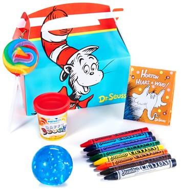 Dr. Seuss Filled Party Favor Box