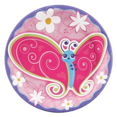 Flutterby Butterflies Dinner Plates
