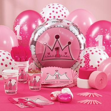 Birthday Princess 1st Birthday Personalized Party Theme