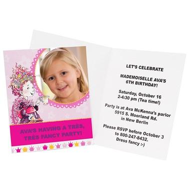Fancy Nancy Personalized Invitations (8)