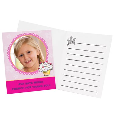 Fancy Nancy Personalized Thank-You Notes (8)