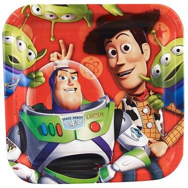 Disney Toy Story 3 - 3D Square Dessert Plates Asst.