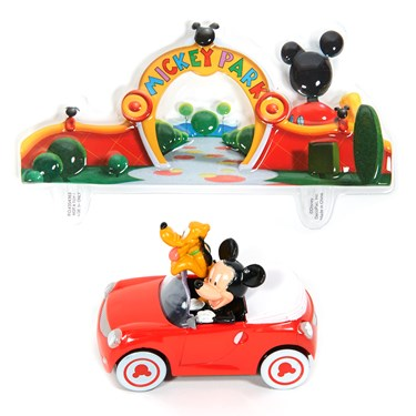Disney Mickey & Pluto Cake Topper Asst.