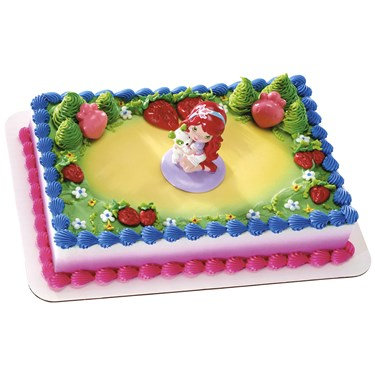 Strawberry Shortcake Cake Topper